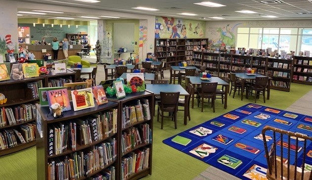 MCES Library instruction area