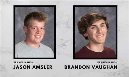 Jason Amsler and Brandon Vaughan