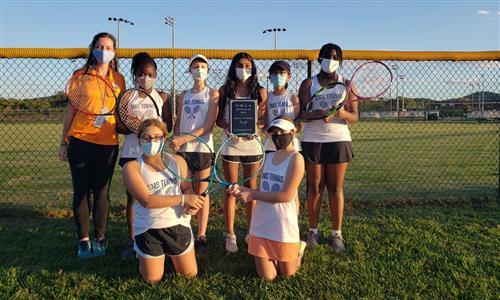 SMS Tennis team